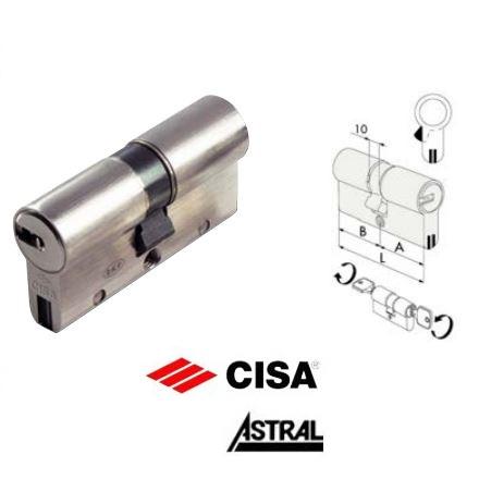 Cilindro per serratura profilo europeo cisa astral sigillo for Cilindro europeo cisa